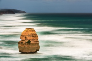 The iconic golden cliffs and crumbling pillars of the Twelve Apostles can be found 7km east of Port Campbell. They are protected by the Twelve Apostles Marine National Park which covers 7500ha and runs along 17km of stunning coastline.